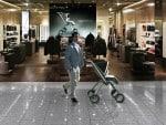 Artist Rendering of Porche P'4911 stroller