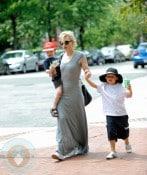 Cate Blanchett with sons Roman and Ignatius