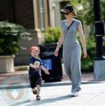 Cate Blanchett with son Ignatius