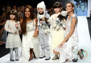 Fashion Kids for Children in Crisis show in Milan 2011
