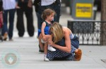 66276PCN_Leelee Sobieski and daughter Louisiana in Tribeca