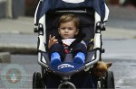 Gisele Bundchen With son Benjamin in Boston