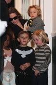 Angelina Jolie Gwen Stefani playdate