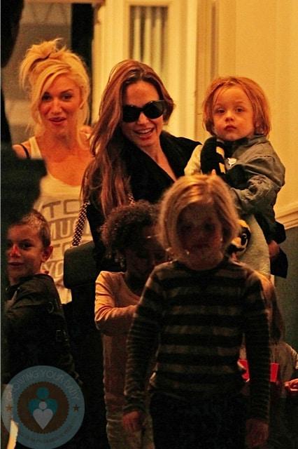 Angelina Jolie Gwen Stefani playdate - Growing Your Baby ...
