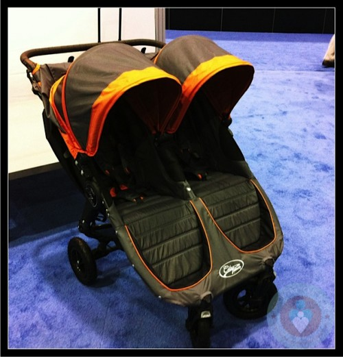 Baby Jogger City Mini GT double - orange