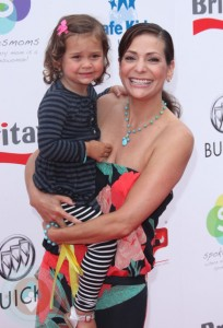 Constance Marie and daughter Luna