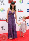 Constance Zimmer and daughter Coco