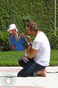 Eric and Billie Dane at the park