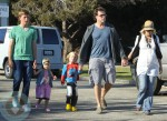 Tori Spelling and Dean McDermott with their kids Jack, Liam and Stella