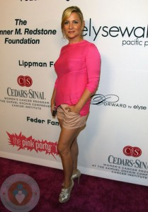Jessica Capshaw at the Pink Party