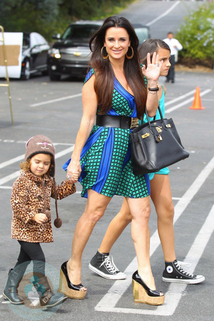 Kyle Richards And Daughters Portia And Sophia Growing