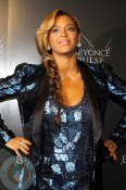 Pregnant Beyonce at the Launch of Pulse