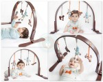 Finn + Emma Wooden Play Gym
