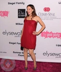 Jennifer Garner at the pink party