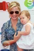 Jessica Capshaw and daughter Eve Gavigan