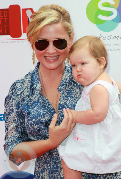 Jessica Capshaw and daughter Eve Gavigan - Growing Your Baby