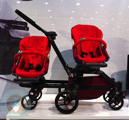 Orbit Baby Introduces Helix 2 Double Stroller! {Video} : Growing ...