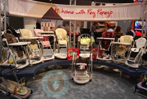 Peg Perego 2012 Highchairs