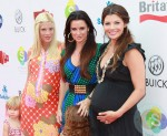 Tori Spelling, Kyle Richards and Ali Landry at the Red CARpet Event