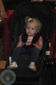 Aviana LeGallo in her All Black Chameleon stroller