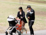 Selma Blair & Jason Bleick with baby Arthur