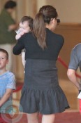 Victoria Beckham with daughter Harper Seven