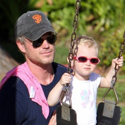 Eric Dane and Rebecca Gayheart Play At The Park With Their Little Princess!