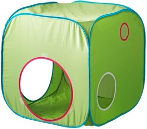 Image of recalled IKEA BUSA children's folding tents