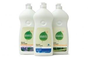 Seventh Generation Dish detergents