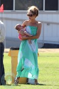 Denise Richards with daughter Eloise
