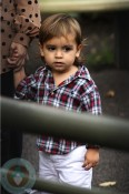 Mason Disick at the Central Park Zoo