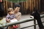 Kourtney Kardashian and son Mason Disick at the Central Park Zoo