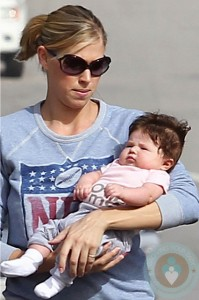 Victoria Prince out with daughter Jordan
