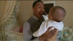 New dad Nick Cannon with daughter Monroe