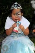 Naleigh Kelley dressed as a Princess