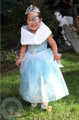 Naleigh Kelley dressed as a Princess