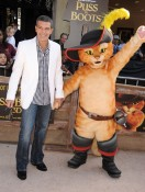 Antonio Banderas at the Puss In Boots premiere