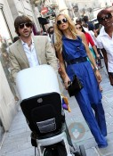 Rachel Zoe and Roger Berman in Paris