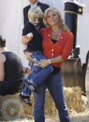 Alison Sweeney with son Ben at Mr