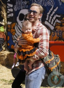 Ian Ziering with daughter Mia At Mr
