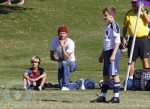 David Beckham with son Brooklyn and Romeo