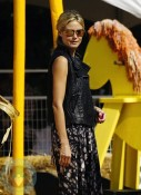 Heidi Klum at Mr. Bones Pumpkin Patch
