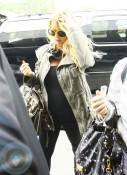 Jessica Simpson at LAX airport