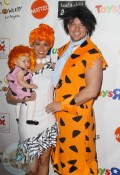 Melissa Rycroft and Tye Strickland with daughter Ava Grace at 18th Annual Dream Halloween LA