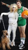 Family Portrait! Pregnant Jessica Simpson with Eric Johnson and dog bently