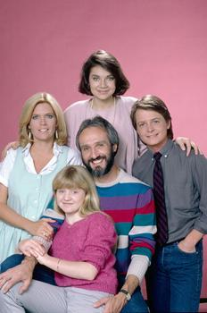 The Keaton Family from Family Ties