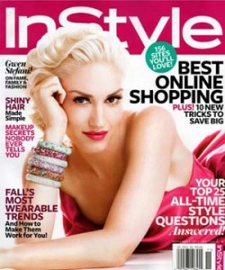 GwenStefani InStyle Nov Cover