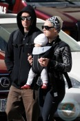 Singer Pink and Carey Hart with daughter Willow