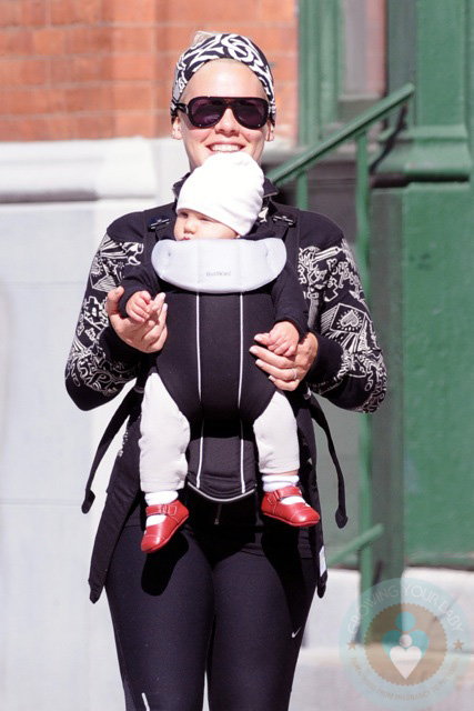 Singer Pink and daughter Willow