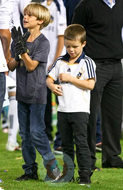 Italian Boy Name: Romeo And Cruz Beckham